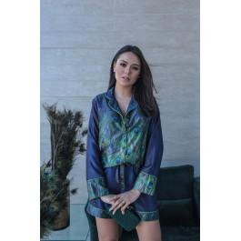 Pijama Concept Pavão Shorts