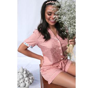 Pijama Rosa Blush