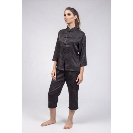 Pijama Luxo Seda Adamasco