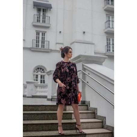 Vestido Veludo Budapeste